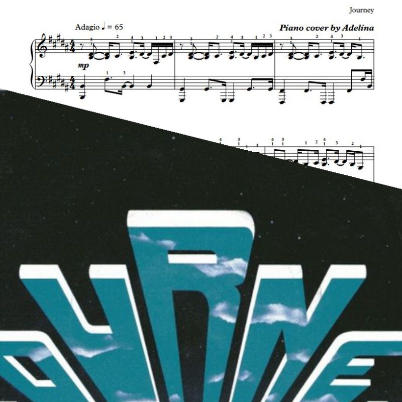 """Faithfully"" – Journey – Piano Sheet Music"