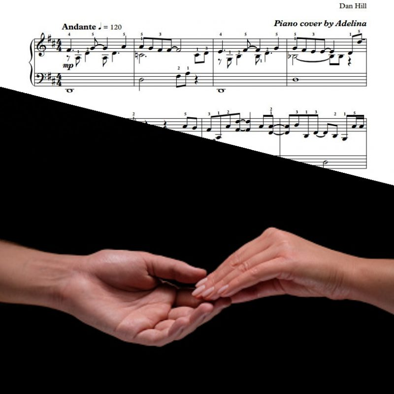 """Sometimes When We Touch"" – Dan Hill – Piano Sheet Music"