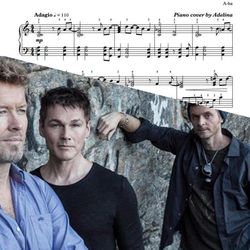 """""""Hunting High and Low"""" – A-ha – Piano Sheet Music"""
