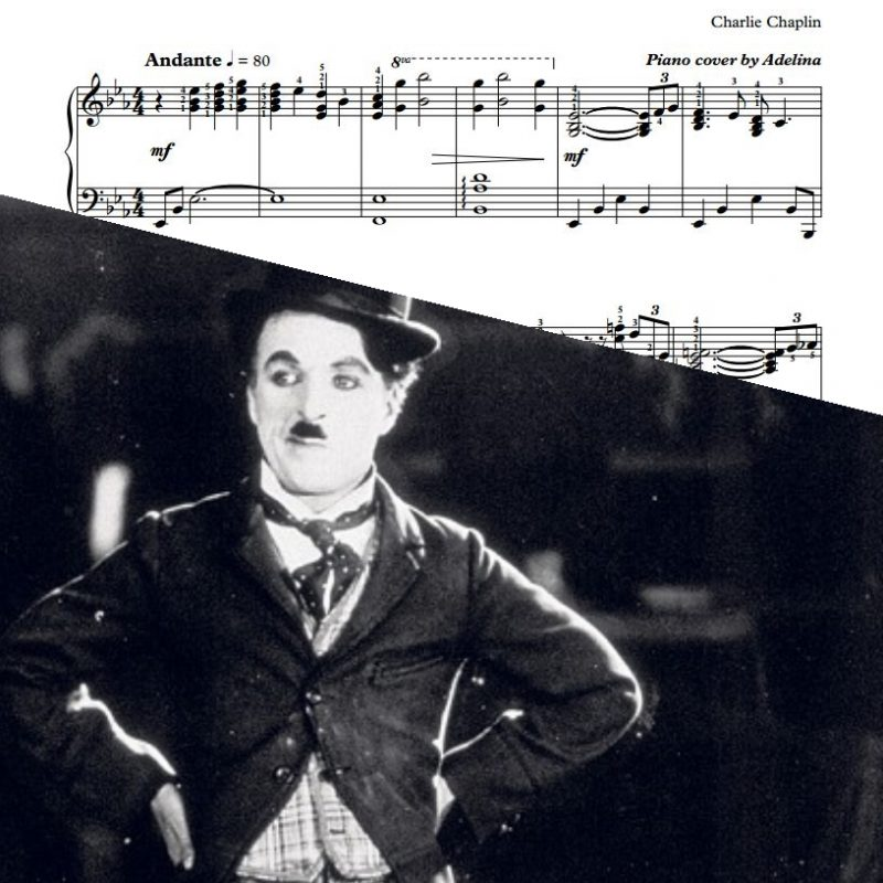 """Smile"" – Charlie Chaplin – Piano Sheet Music"