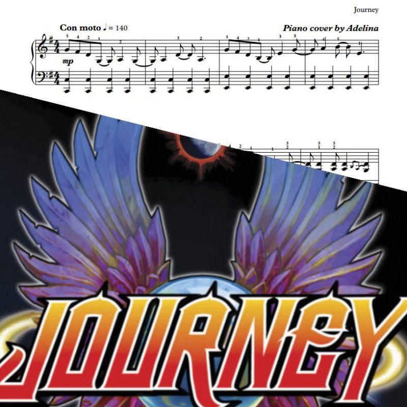 """Send Her My Love"" – Journey – Piano Sheet Music"