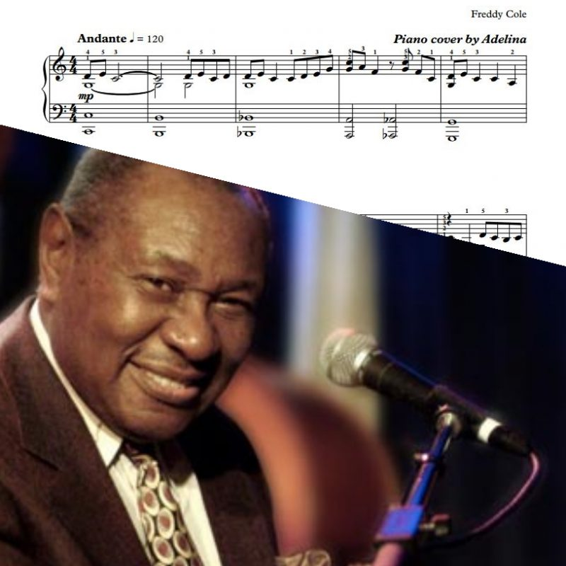 """I Loved You"" – Freddy Cole – Piano Sheet Music"