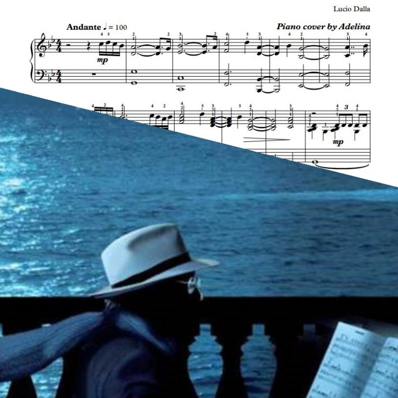 """Caruso"" – Lucio Dalla – Piano Sheet Music"