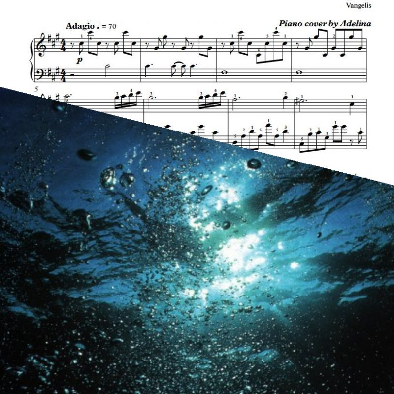 """Prelude"" – Vangelis – Piano Sheet Music"