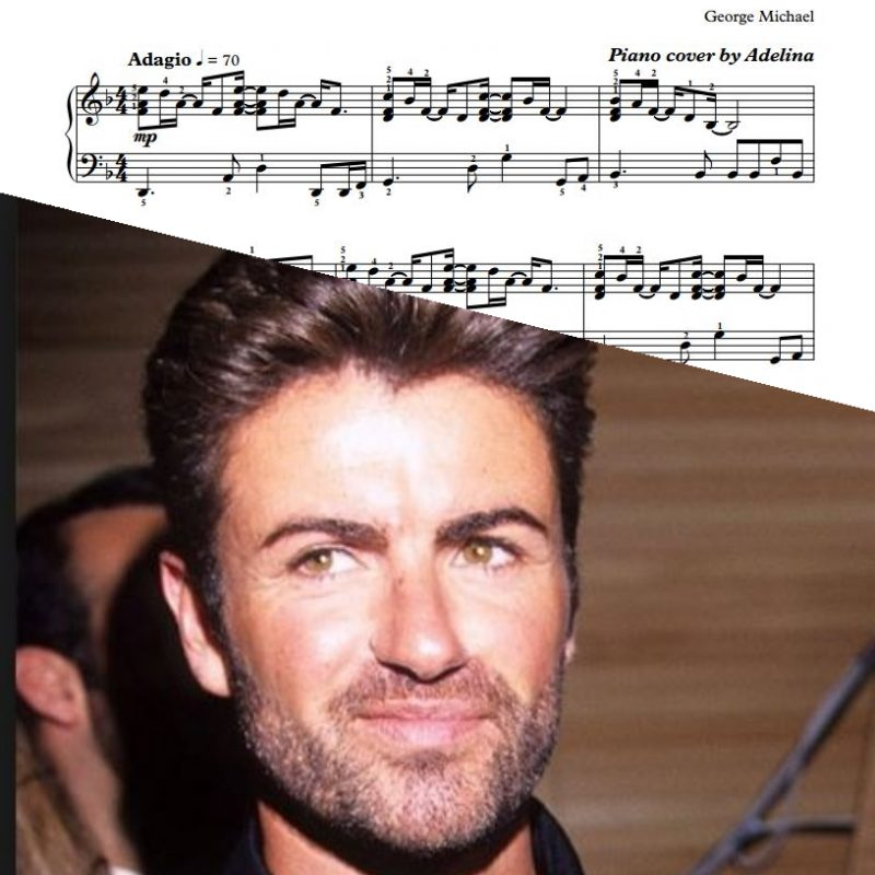 """Careless Whisper"" – George Michael – Piano Sheet Music"