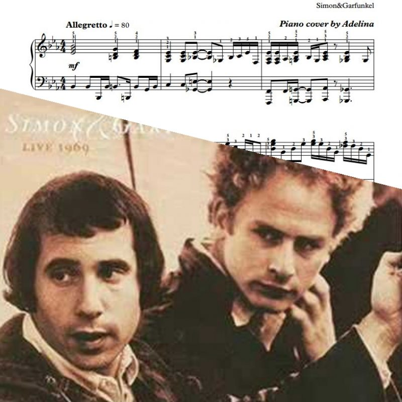 """Bridge Over Troubled Water"" – Simon&Garfunkel – Piano Sheet Music"