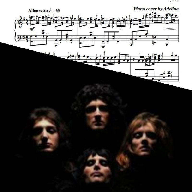 """Friends Will Be Friends"" – Queen – Piano Sheet Music"