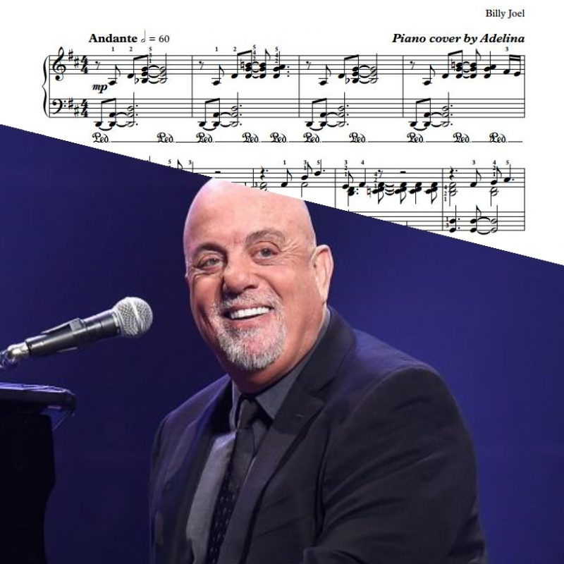"""Just The Way You Are"" – Billy Joel – Piano Sheet Music"