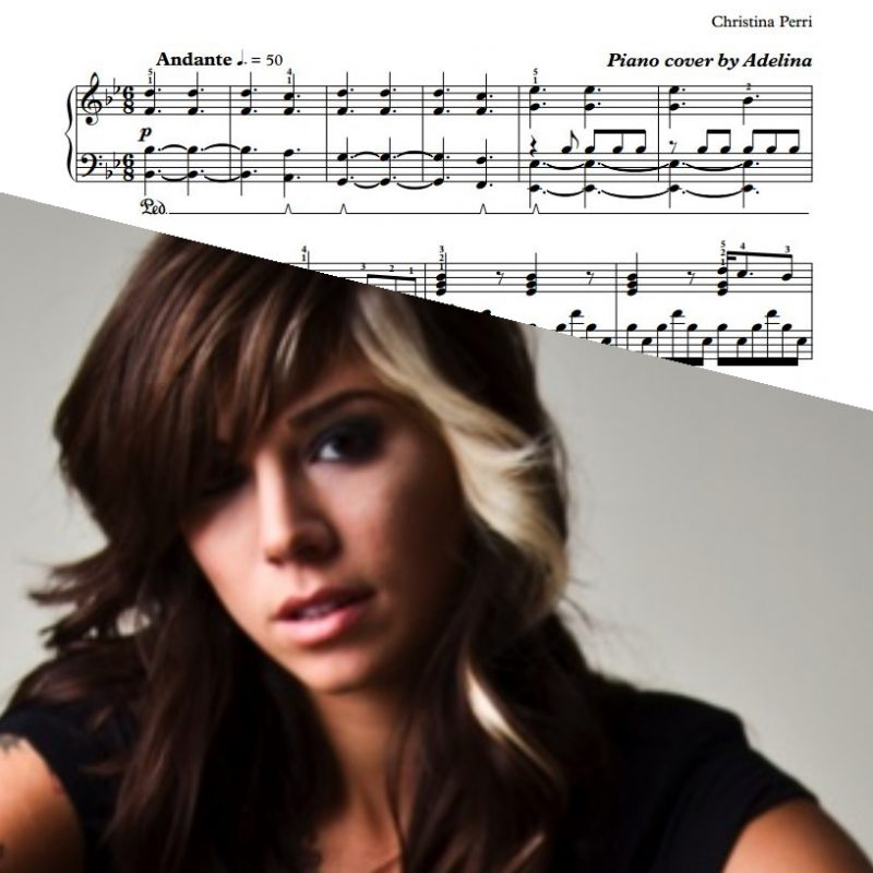 """A Thousand Years"" – Christina Perri – Piano Sheet Music"