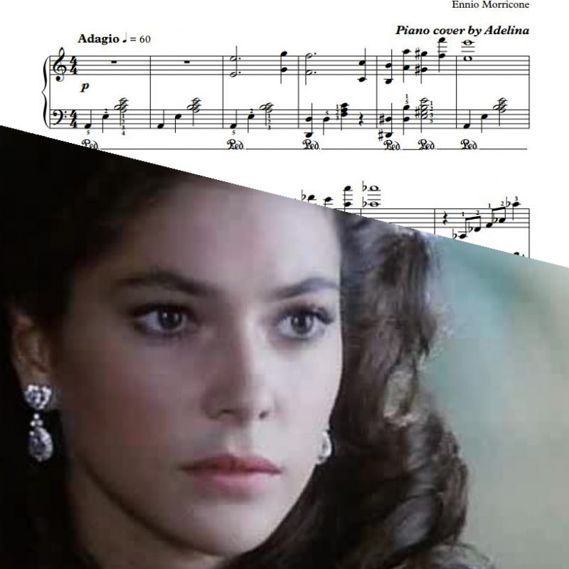 """Intimamente"" – Ennio Morricone – Piano Sheet Music"