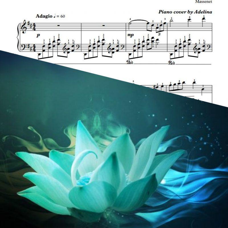 """""""Meditation"""" – Massenet – Piano Sheet Music"""
