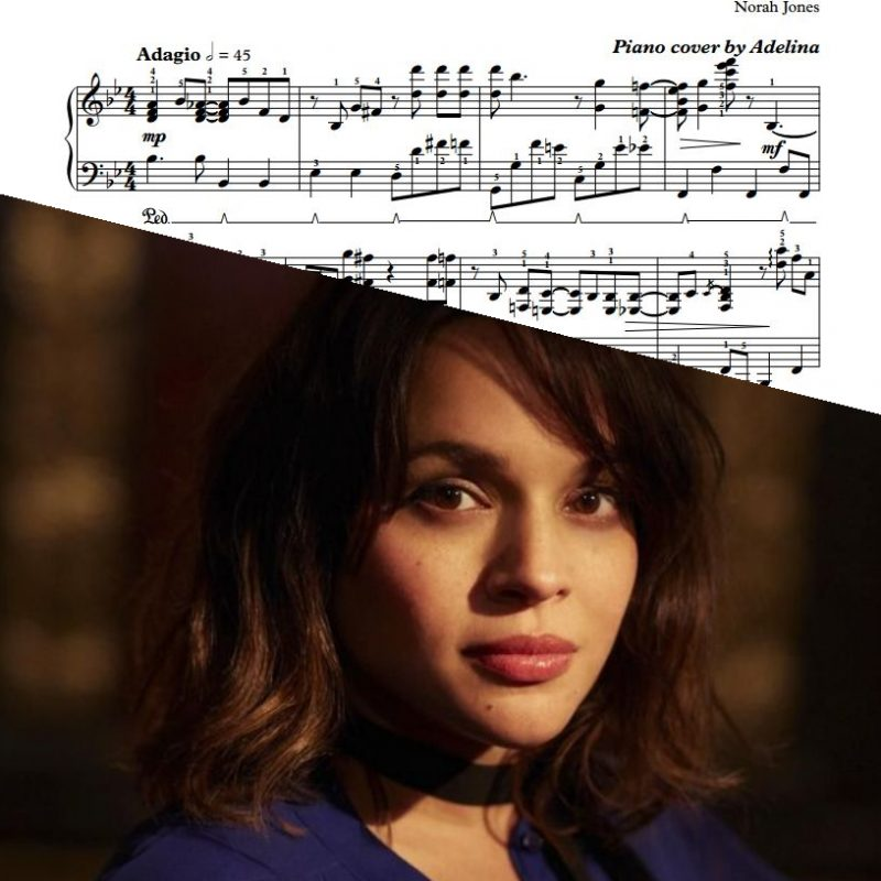 """Don't Know Why"" – Norah Jones – Piano Sheet Music"