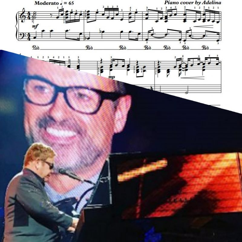 """Don't Let The Sun Go Down On Me"" – George Michael, Elton John – Piano Sheet Music"