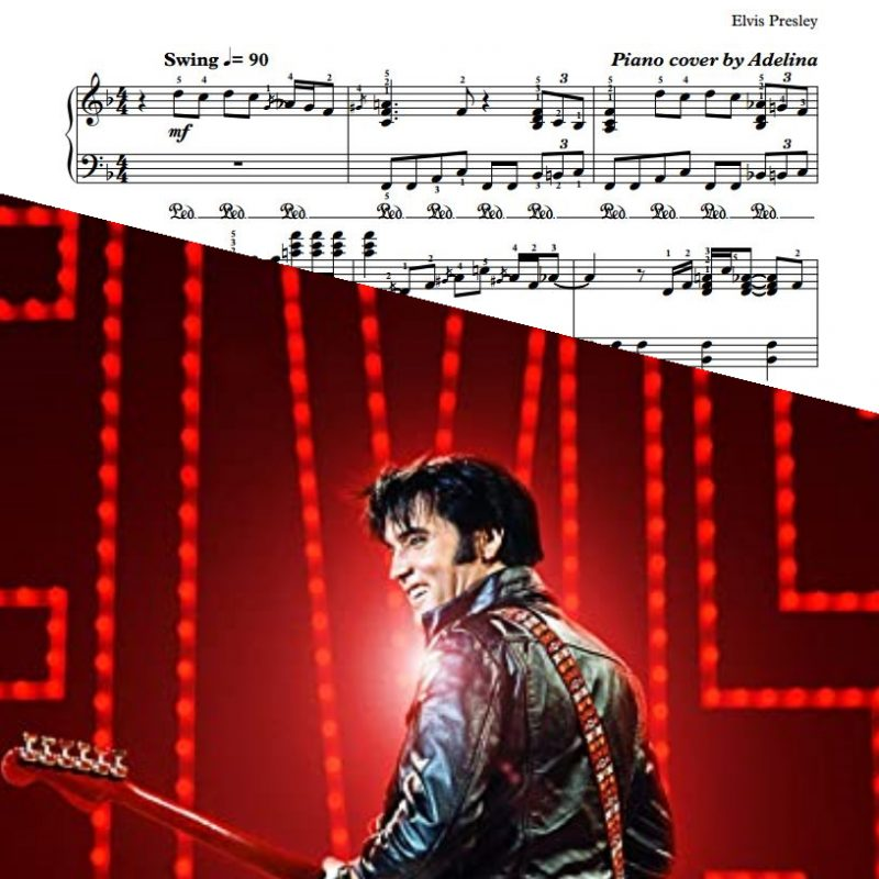 """""""Trying To Get To You"""" – Elvis Presley – Piano Sheet Music"""