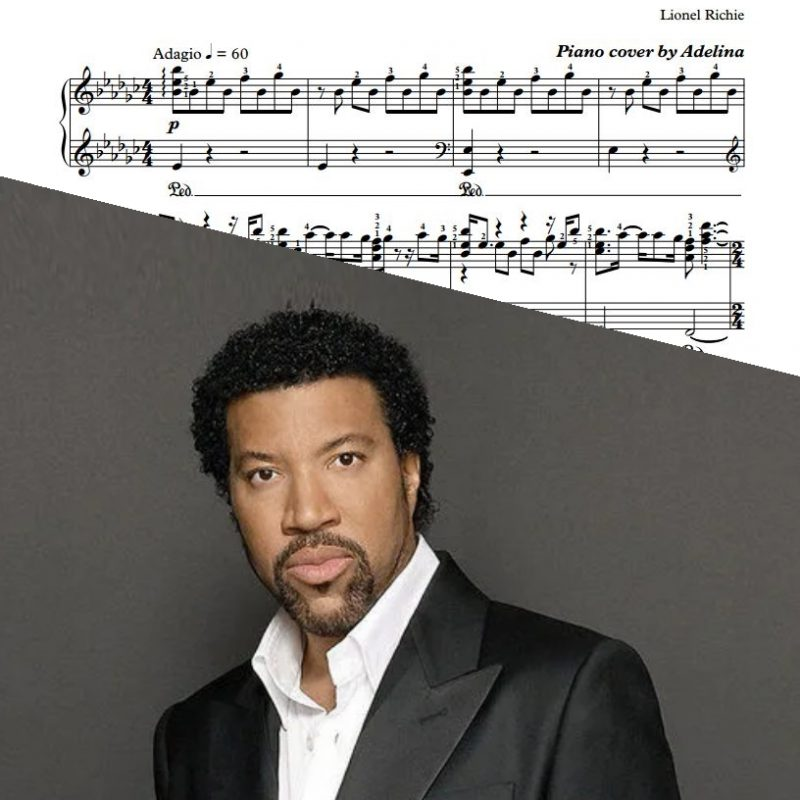 """Lady"" – Lionel Richie – Piano Sheet Music"