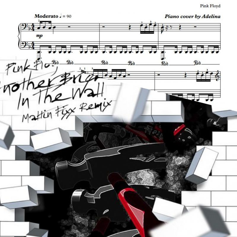 """Another Brick in the Wall"" – Pink Floyd – Piano Sheet Music"