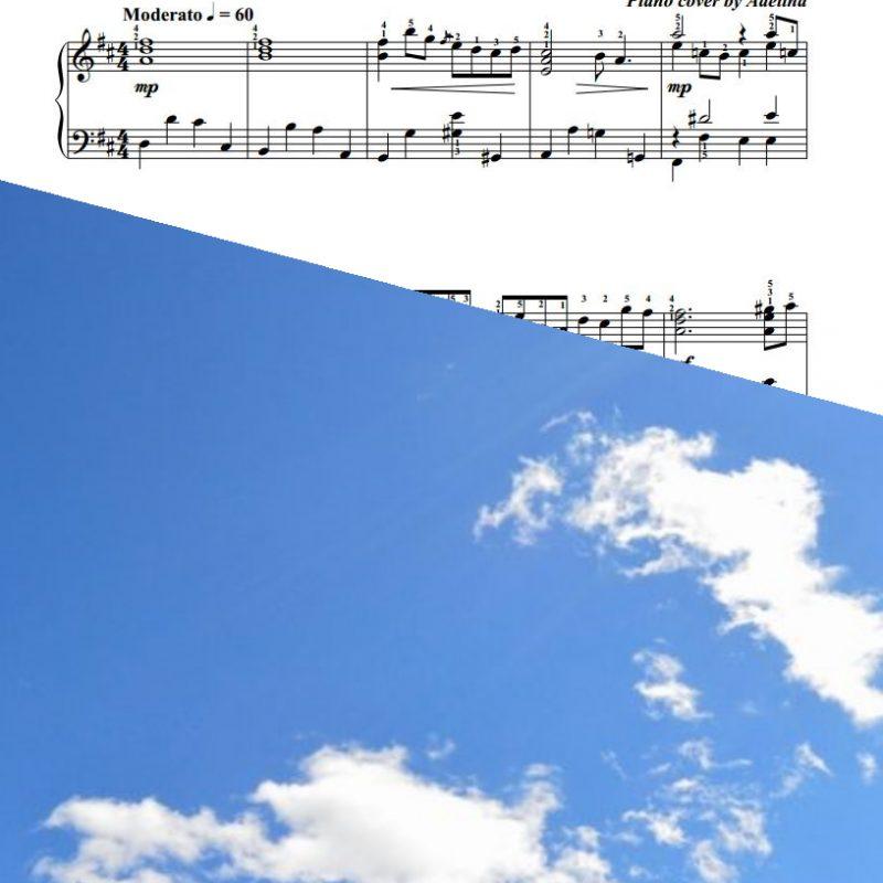 """""""Air"""" – J.S.Bach – Piano Sheet Music"""
