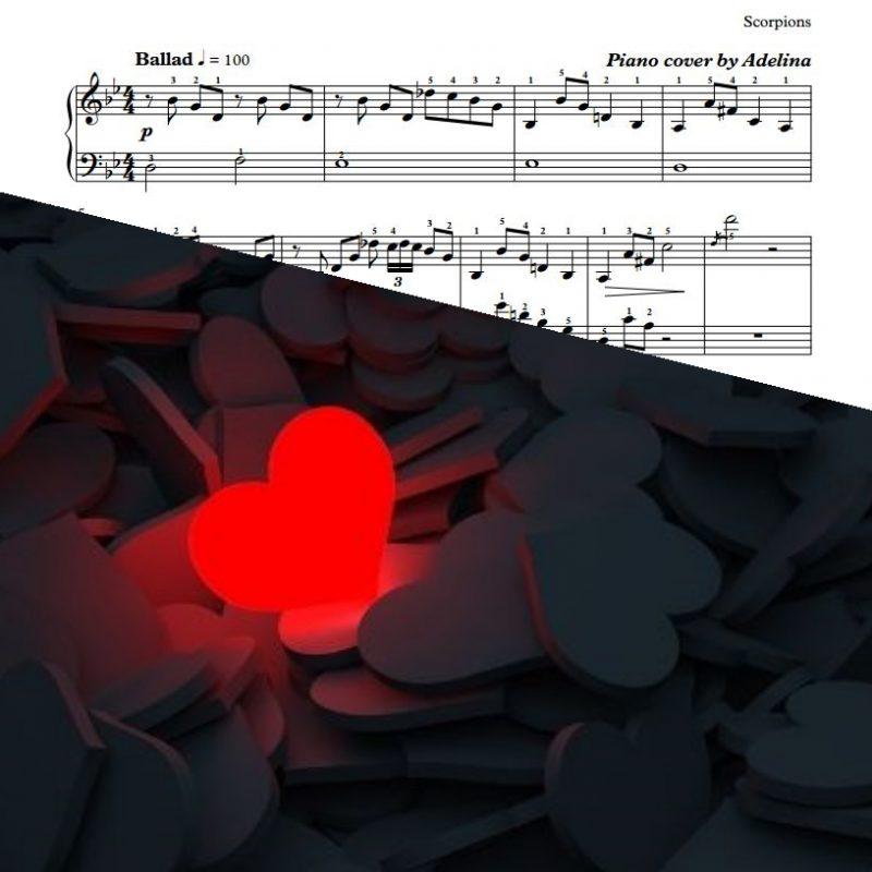 """Still Loving You"" – Scorpions – Piano Sheet Music"