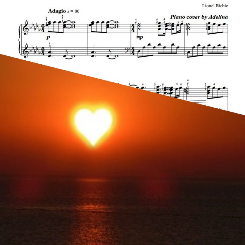 """""""Truly"""" – Lionel Richie – Piano Sheet Music"""