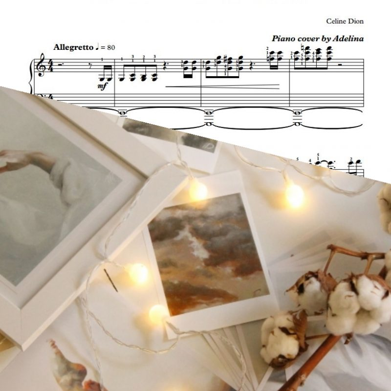 """""""It's All Coming Back To Me Now"""" – Celine Dion – Piano Sheet Music"""