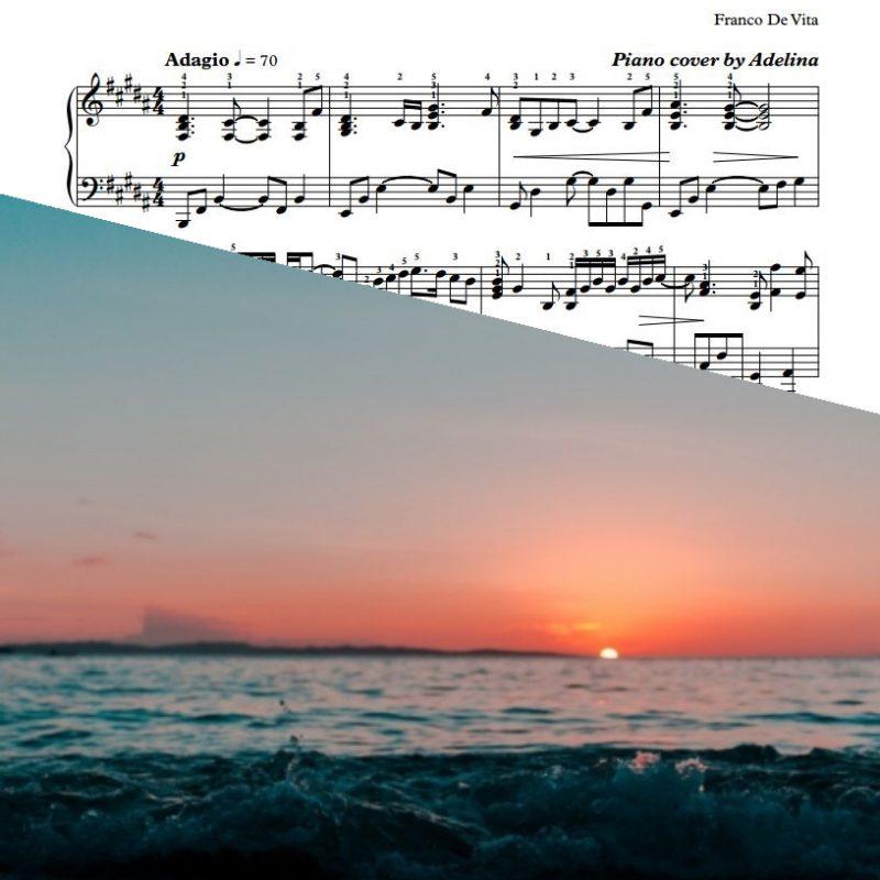 """Tu De Que Vas"" – Franco de Vita – Piano Sheet Music"
