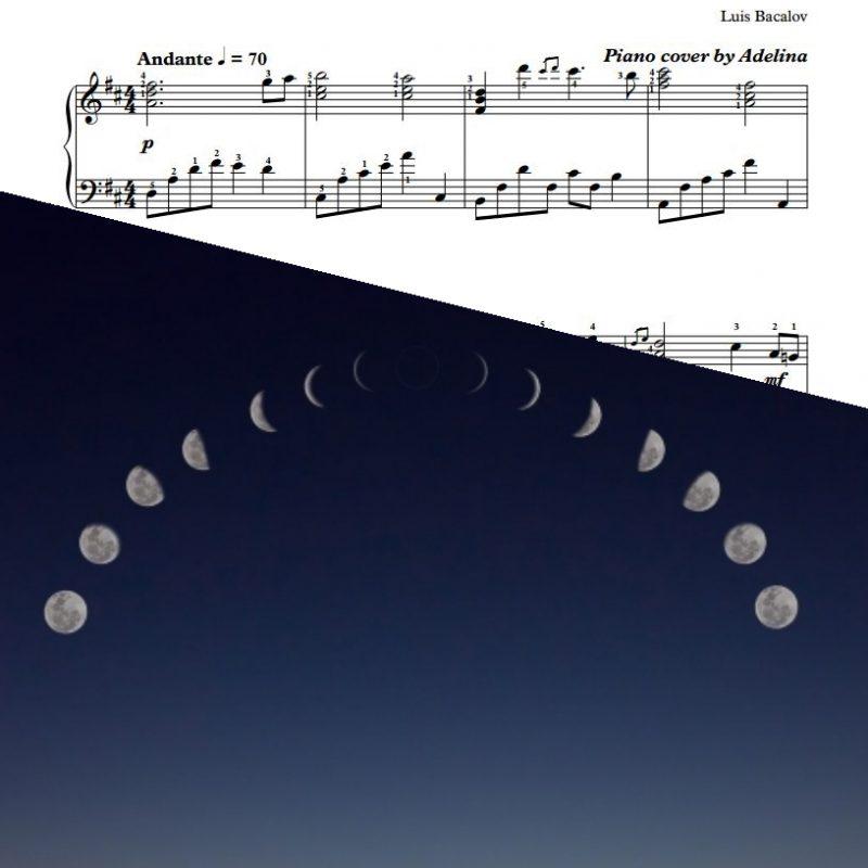 """Hidden Moon"" – Luis Bacalov – Piano Sheet Music"