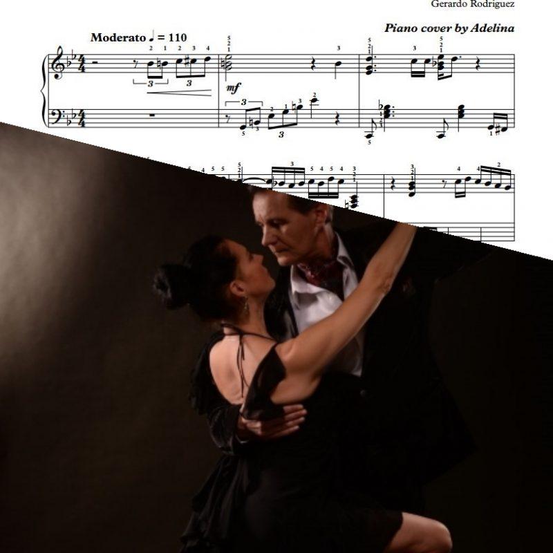 """La Cumparsita"" – Gerardo Rodriguez – Piano Sheet Music"