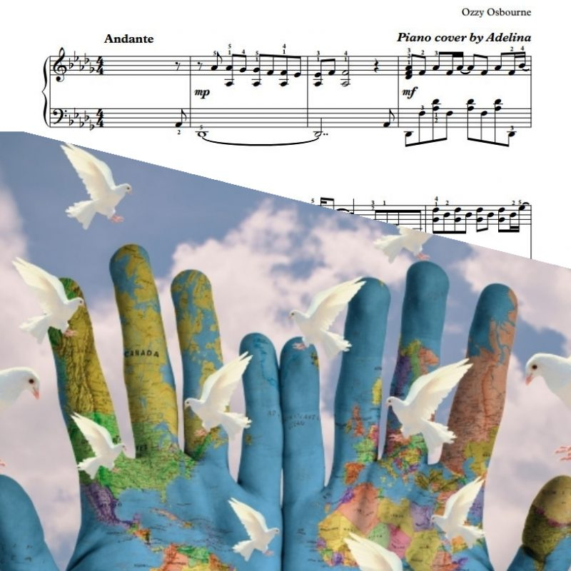 """Dreamer"" – Ozzy Osbourne – Piano Sheet Music"