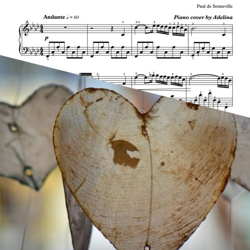 """A Comme Amour"" – Richard Clayderman – Piano Sheet Music"