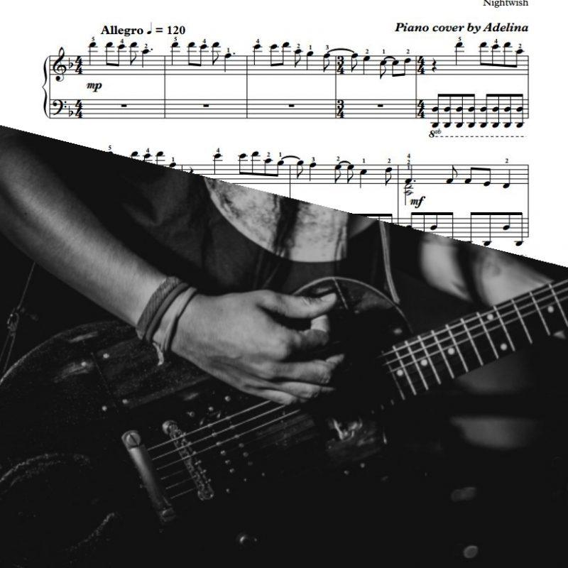 """""""Nemo"""" – Nightwish – Piano Sheet Music"""